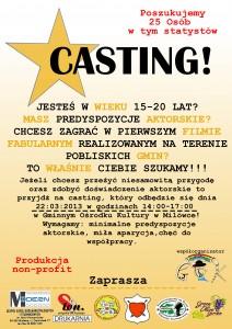 Plakat na Casting
