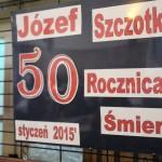 50 rocznica śmieci Józefa Szczotki