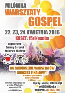 warsztraty gospel milówka