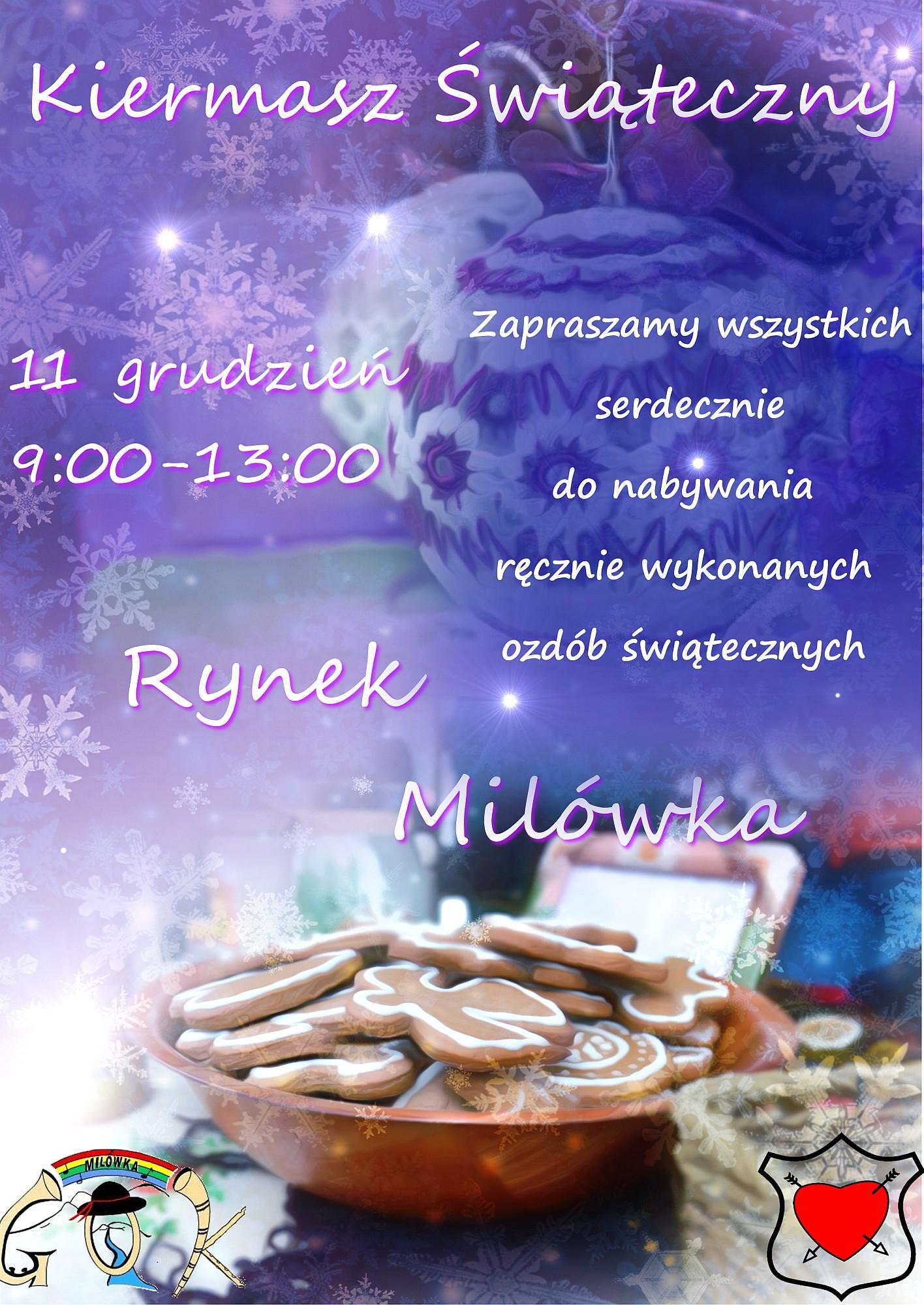 Kiermasz Świąteczny 11 grudnia