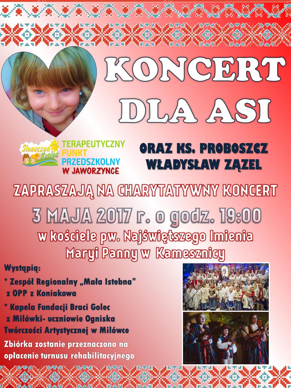 koncert dla Asi