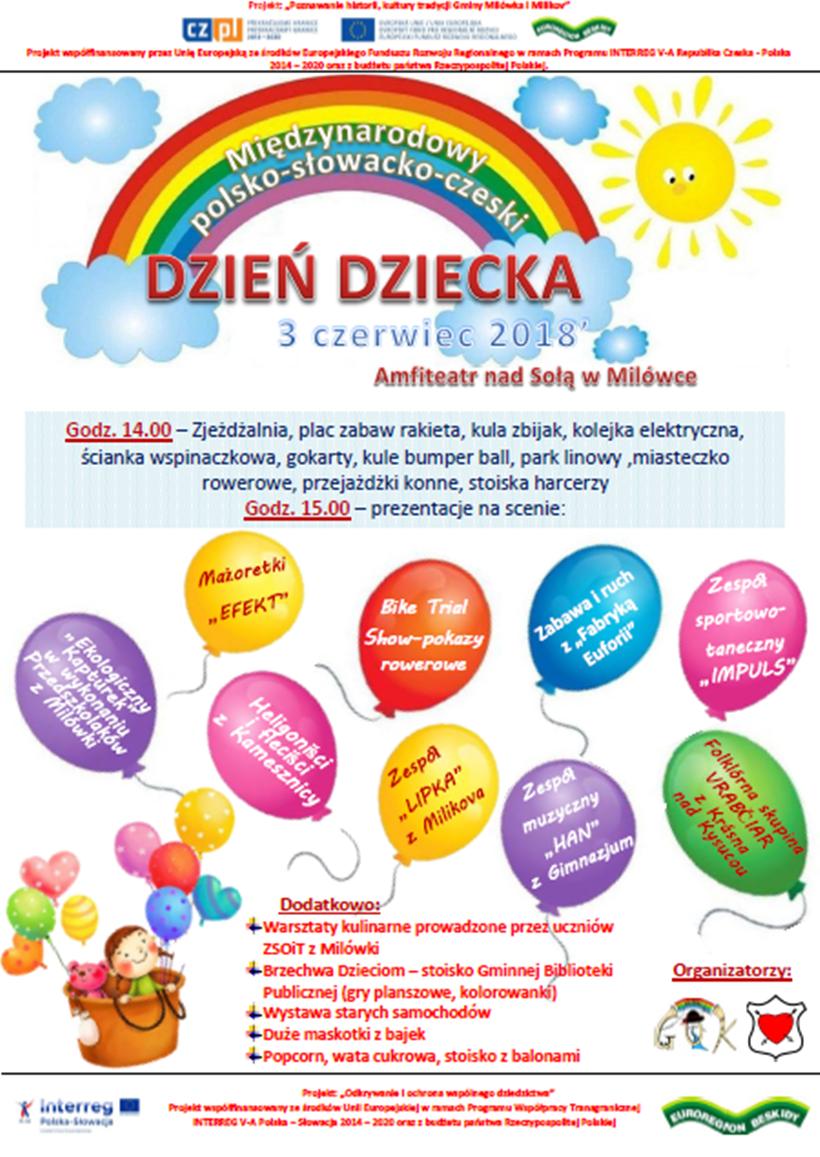 Międzynarodowy Dzień Dziecka 2018 w Milówce