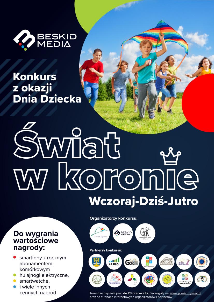 """Konkurs powiatowy """"Świat w koronie"""""""