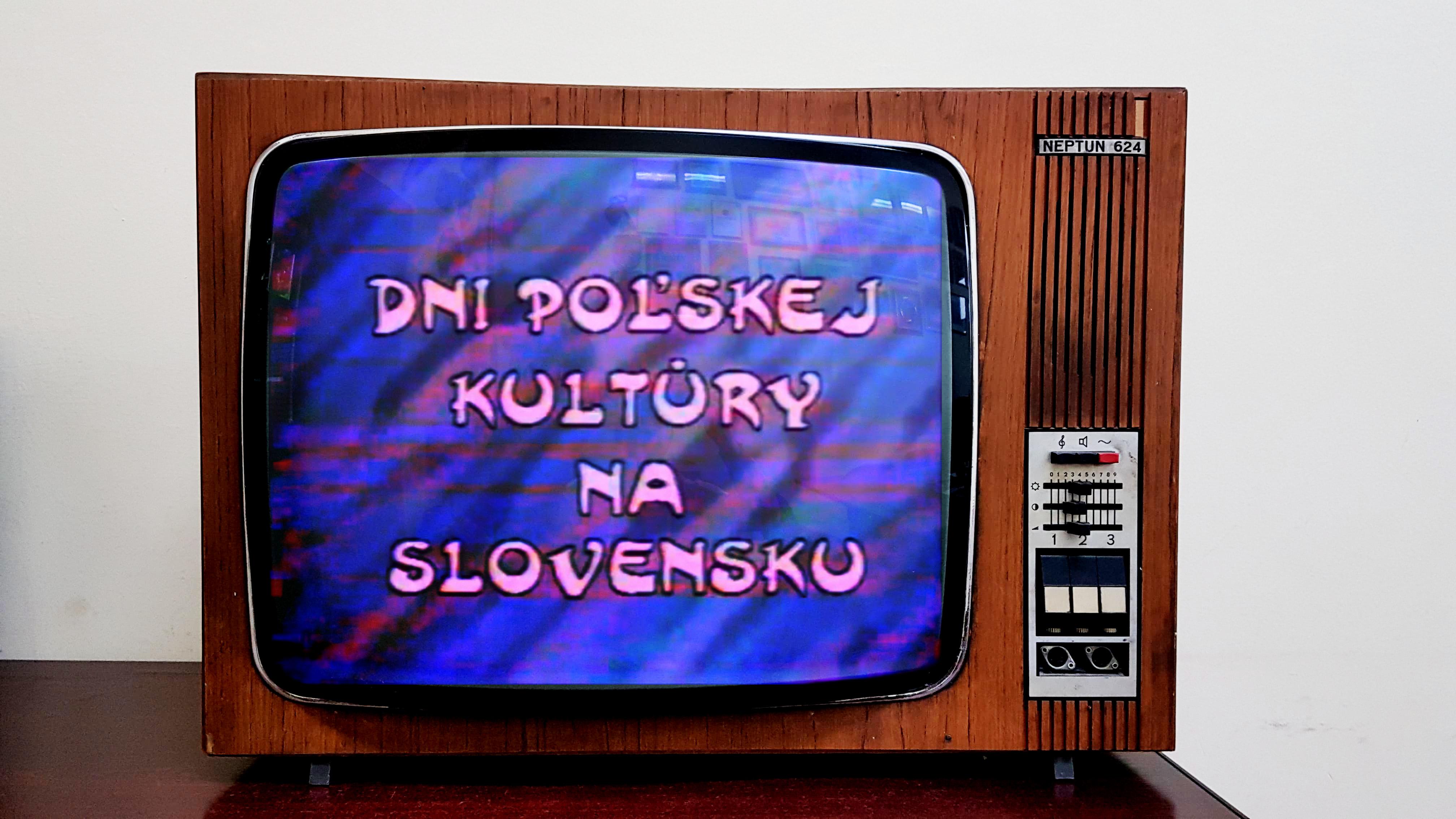 Historia imprez na starych taśmach – Dni polskiej kultury na Słowacji w 1996r.