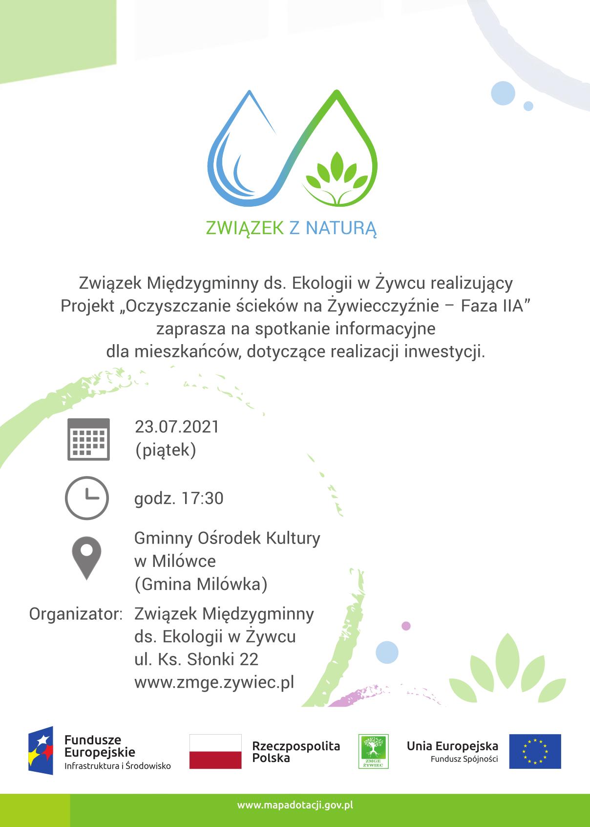 Związek z Naturą – zaproszenie na spotkanie