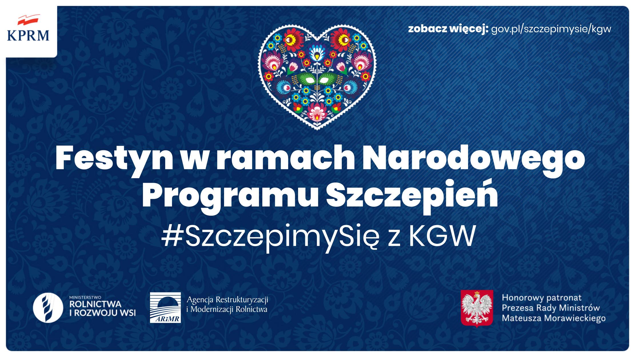 #SzczepimySię z KGW – festyn